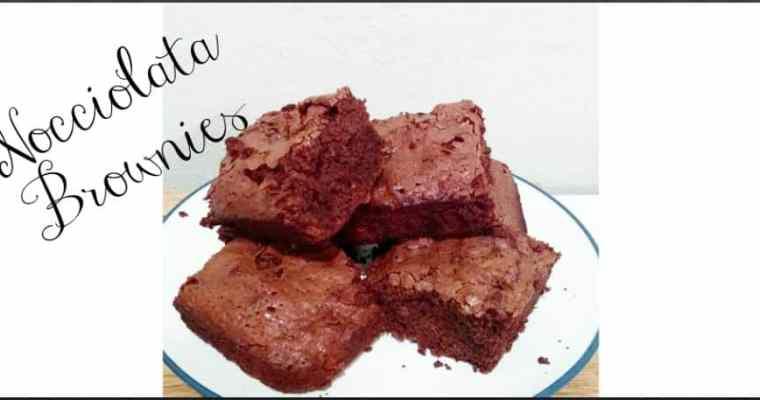 Nocciolata Brownies