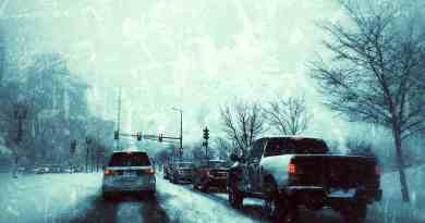 driving on snow and ice