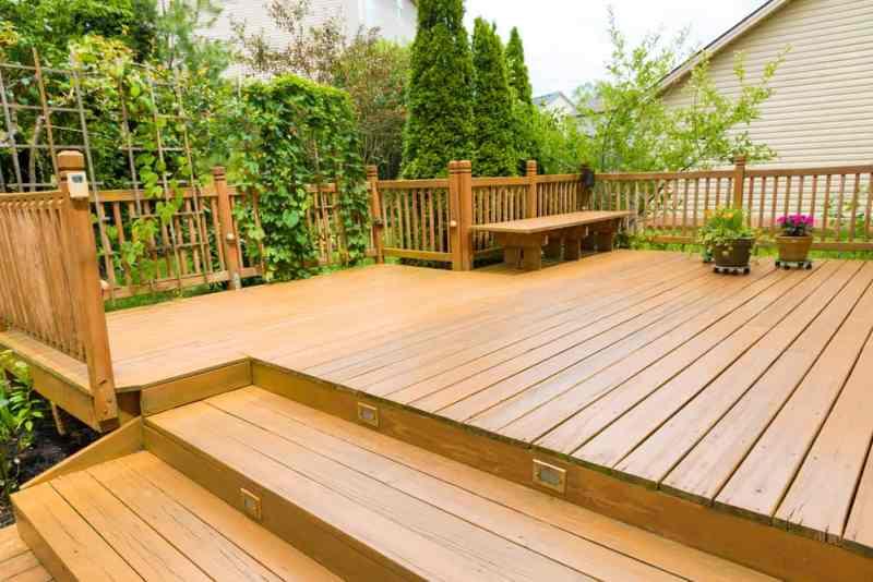 transform your yard - deck