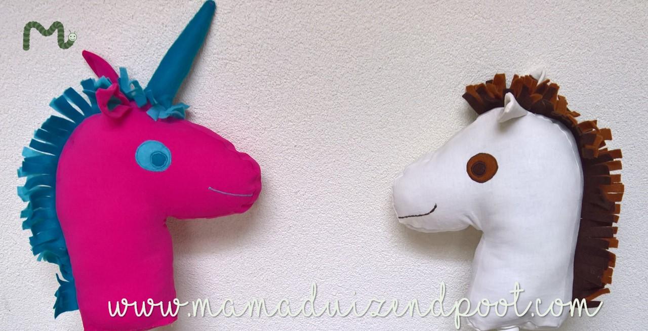 Stokpaardje of eenhoorn