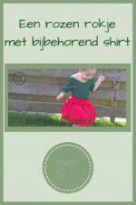 Pinterest - Een rozen rokje met bijbehorend shirt