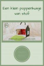 Pinterest - poppenhuisje van stof