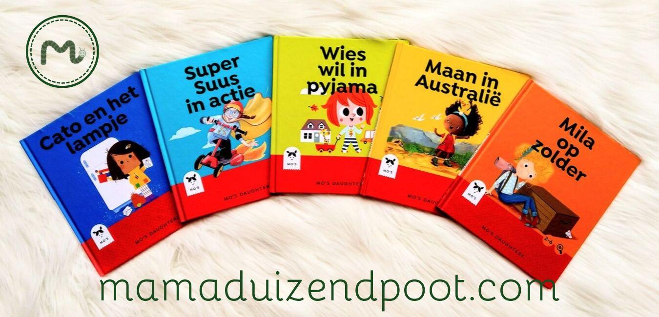 Mo's daughters…boekjes met stoere meisjes in de hoofdrol (Met WIN-ACTIE!)