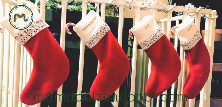 Een persoonlijke kerstsok