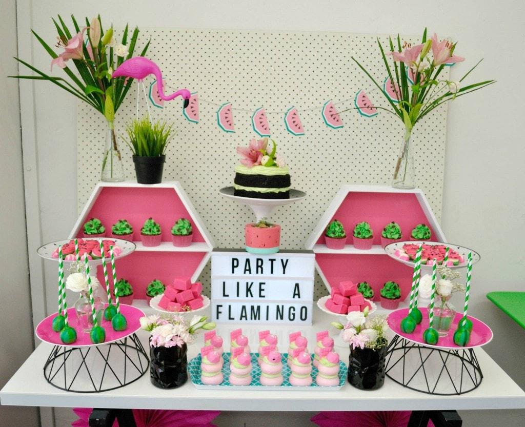 Decora 231 227 O De Flamingo Para Festa De Anivers 225 Rio Mam 227 E Amp Cia