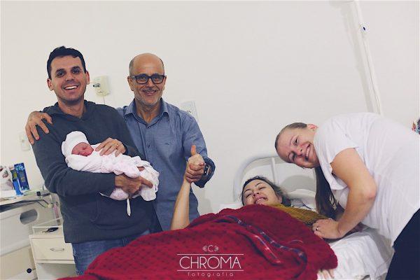 equipe de assistência ao parto humanizado da janaína peixer