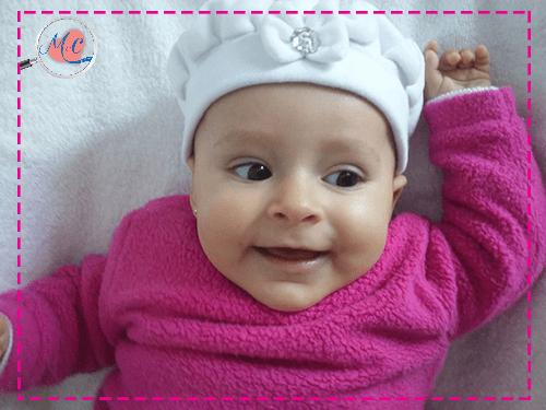 sintomas do nascimento dos dentes  - propriedade M&C