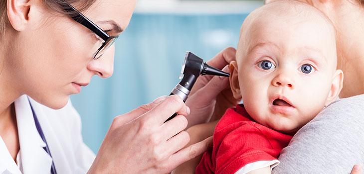 Infecção de ouvido nas crianças
