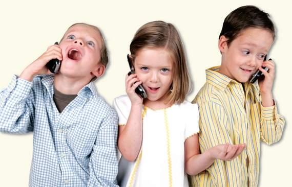 estatisticas de celulares para crianças