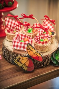 cesta de lembrancinha para aniversario infantil
