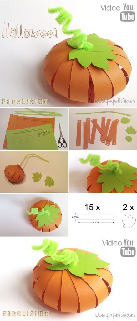 ideas DIY para decoración en Halloween