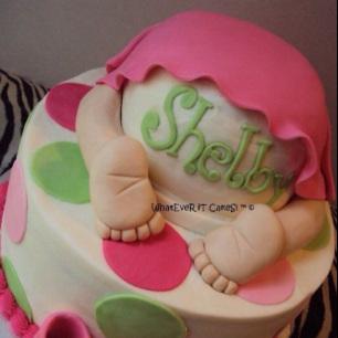 Posts + lidos: 25 exemplos de bolos para chá de bebê
