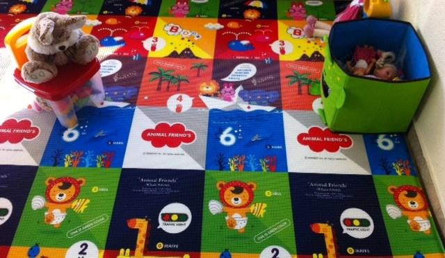 Tapete educativo para bebês e crianças pequenas (Proby Protect Baby)