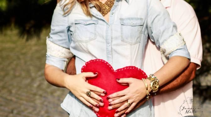 Ensaio fotográfico de uma gestante do coração (adoção)