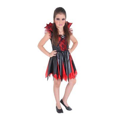 Fantasiade vampira de Halloween