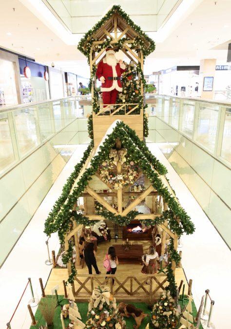 Decoração de Natal do Shopping Ibirapuera
