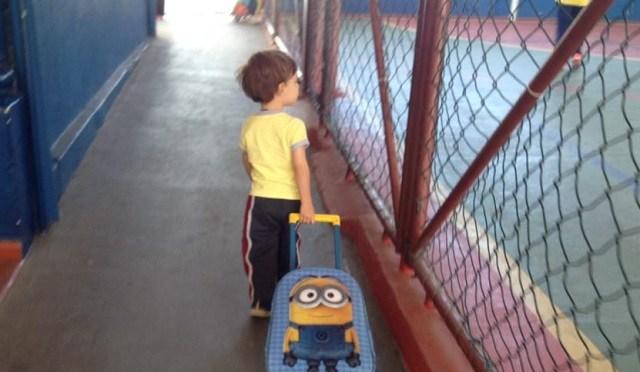 A primeira vez na escola: como ajudar seu filho