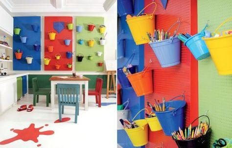 Brinquedoteca colorida