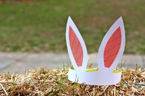 Orelhas de coelho para a Páscoa