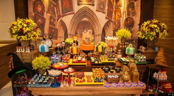 Festa Harry Potter: ideias para decorar e comer
