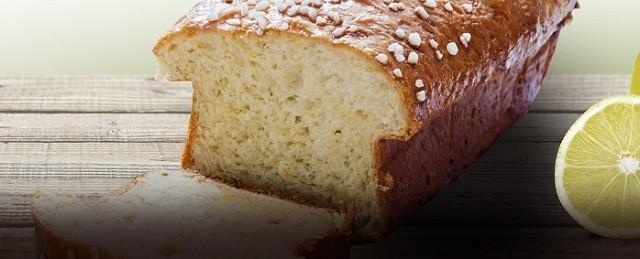 Pão doce de limão