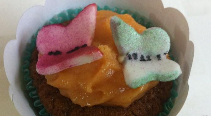 Receita de cupcake de cenoura (vegano, funcional e sem leite!)
