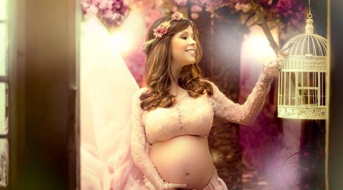 Estrias na gravidez. Foto: Estudio Lidi Lopez