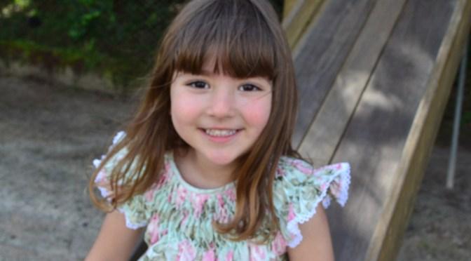 Vestidos infantis: 9 looks delicados com bordado casinha de abelha