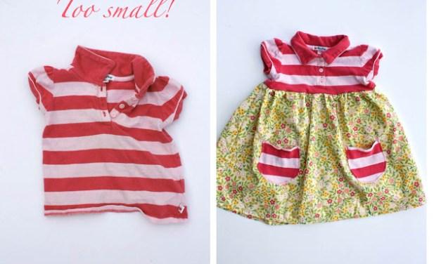 Customizando roupas de crianças