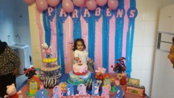 Festa da Peppa - Aniversário de 2 anos da Rafa
