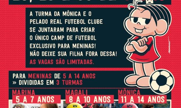Soccer Camp Donas da Rua tem segunda edição no mês de julho
