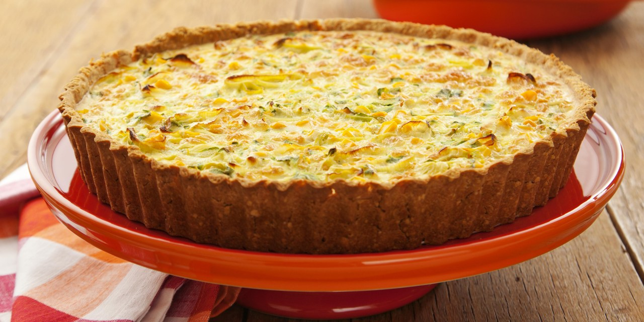 Quiche Leve de Cream Cracker e Legumes