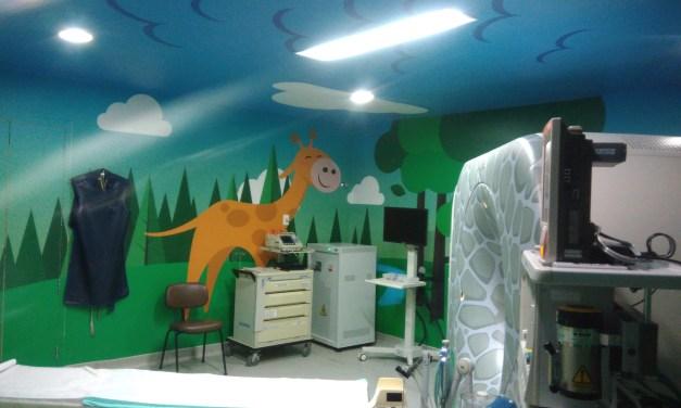 Salas Humanizadas beneficiam crianças em hospitais públicos