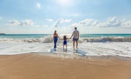 cuidados com as crianças na praia