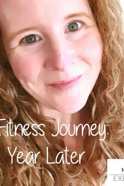 My Fitness Journey: One Year Ago Today