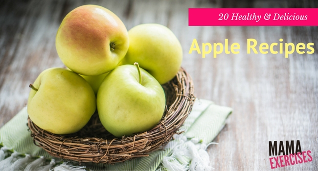 20 Delicious and Healthy Apple Recipes - MamaExercises.com