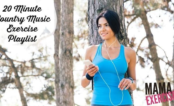 20 Minute Country Music Exercise Playlist