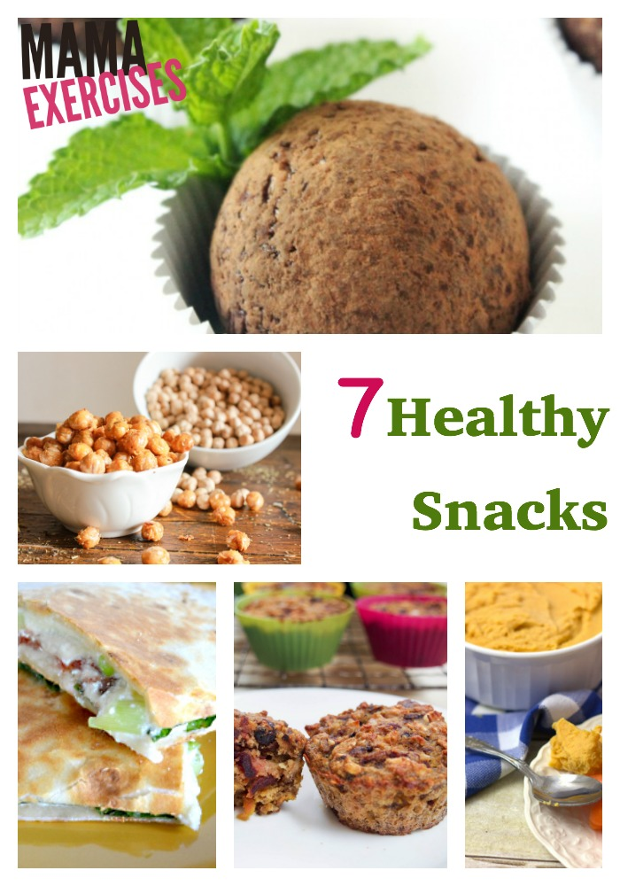 7 Healthy Snacks for Afternoon Snackers - MamaExercises.com