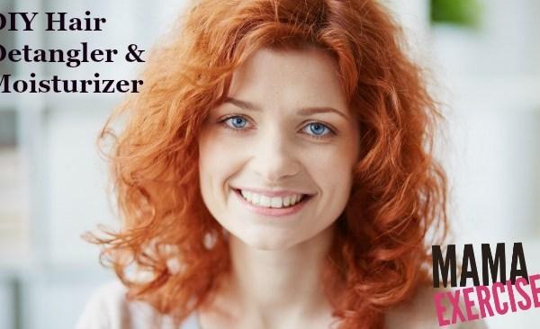 DIY Hair Detangler and Moisturizer