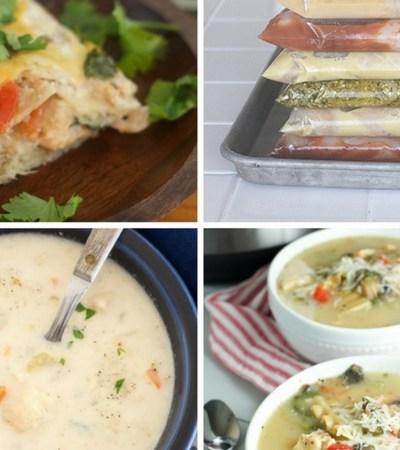Meal Prep: Easy Freezer Meals