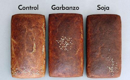 harina de legumbres panes