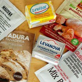 Levadura y pan sin gluten
