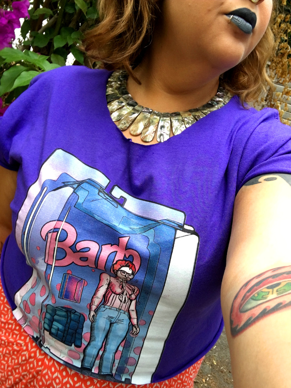 Barb Doll shirt from TeeFury