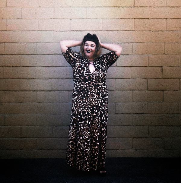 Rebdolls leopard maxi dress