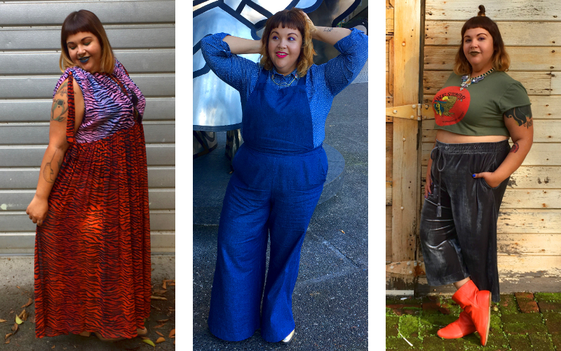 Three plus size fashion looks for fall