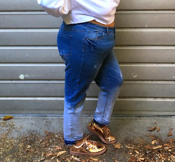 rue21 ombre plus size jeans
