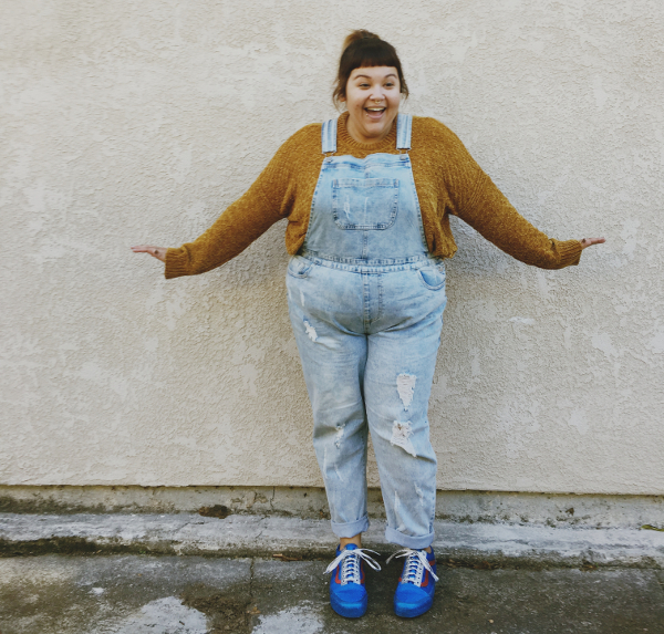 Plus size overalls