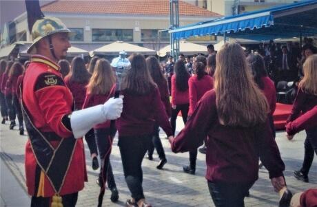 παρέλαση μαθητών