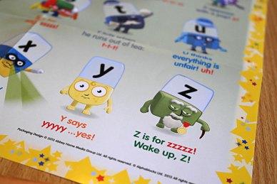 Z is for zzzzz! Wake up, Z!