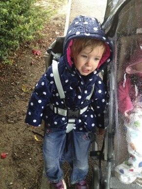 Caught in the rain!